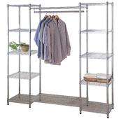 《百變金鋼》大型多功能衣櫥架 (180*45*180cm)
