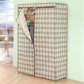 《百變金鋼》多功能防塵衣櫥架 (120*45*180cm)