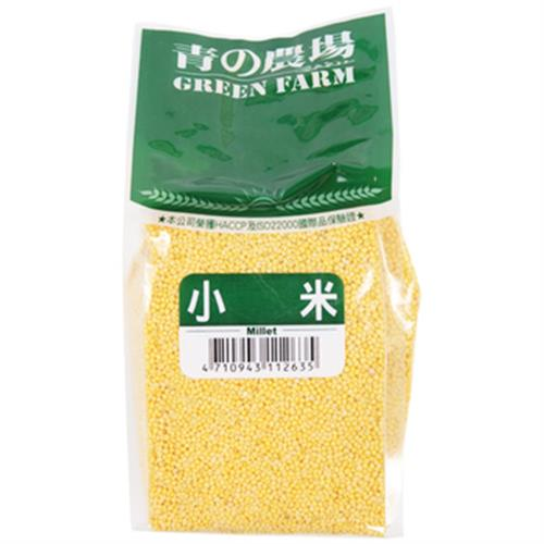 日正食品 青的農場 小米(500g/包)