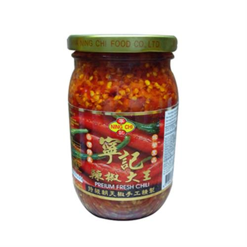 《寧記》特級辣椒大王(450g/瓶)