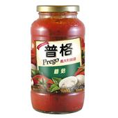 《美國Prego》義大利麵醬-蘑菇(680g/瓶)