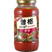 《美國Prego》義大利麵醬-原味(680g/瓶)
