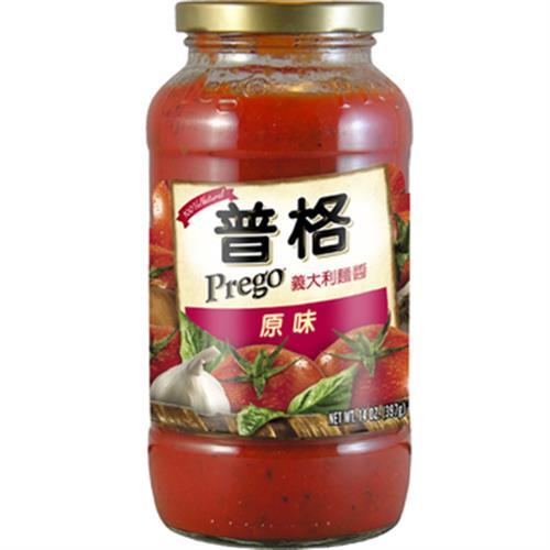 美國Prego 義大利麵醬-原味(680g/瓶)