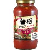 《美國Prego》義大利麵醬-低脂低納(666g/瓶)