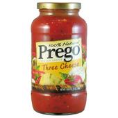 《Prego》普格美國義大利麵醬-三種起司(680g/瓶)