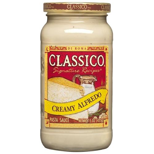 CLASSICO 義大利麵醬-白醬原味(425g/瓶)