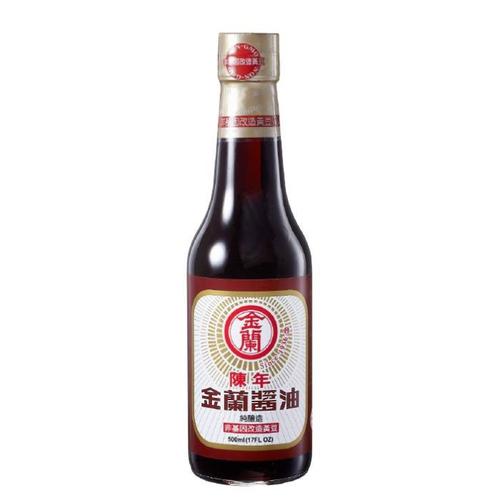 金蘭 陳年醬油(500ml/瓶)
