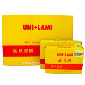 UNI.LAMI護貝膠膜 A3 (100入)