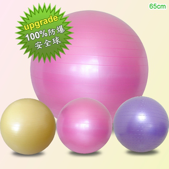 Sport-gym 100%防爆抗力球 / 瑜珈球(65CM)台灣生產(粉紅色)