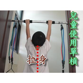 ★結帳現折★Sport-gym 雙頭活動式單槓+3組彈力不同拉力繩
