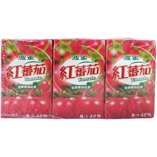 波蜜 紅番茄汁(250ml*6包/組)