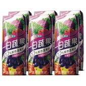 《波蜜》一日蔬果100%紫色蔬果(250ml*6包/ 組)