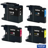 《Brother 》LC-77XL 黑/藍/紅/黃四色組墨水匣 《超大容量》