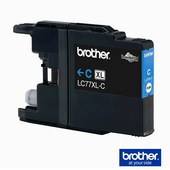《Brother》 LC-77XLC 墨水匣 靛藍色《超大容量》