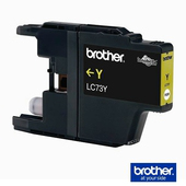 《Brother 》LC-73Y 墨水匣 黃色《標準》