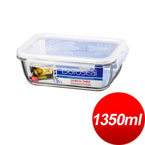 樂扣樂扣 第三代玻璃保鮮盒1.35L(DA01-LLG448)