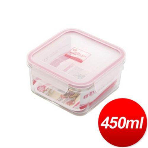 DR. RIN 方型耐熱玻璃保鮮盒(HP-2/ 450ML)