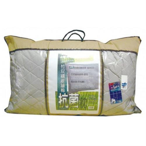 JOY 可水洗竹炭纖維抗菌鋪棉枕(45x75cm)