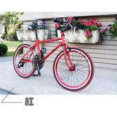 《StepDragon》★小鐵人跑車系列★20吋18速腳踏車(競速紅)