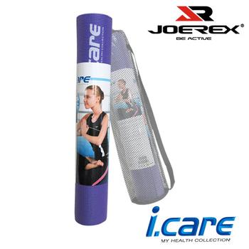 《艾可兒》【JOEREX】瑜珈墊(附網狀背袋)