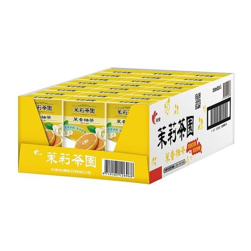 光泉 茉莉茶園-茉香柚茶(245ml*24包/箱)