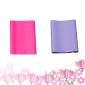 《Sport-gym》皮拉提斯 彈力帶-二條組(初級+進階)(0.35粉紅色+0.5淡紫色)
