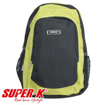 艾可兒 【SUPER-K】時尚亮彩休閒運動背包-K023(草綠)
