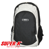 《艾可兒》【SUPER-K】時尚亮彩休閒運動背包-K023(灰)
