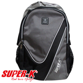 《艾可兒》【SUPER-K】休閒運動背包BS0847(黑/灰)