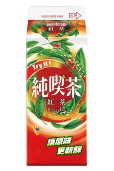 統一 純喫茶-紅茶(650ml/盒)