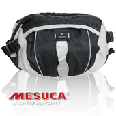 《MESUCA》時尚酷炫腰包 MB0908(灰)