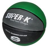 《SUPER-K》7號橡膠深溝籃球 SBCF702(綠)