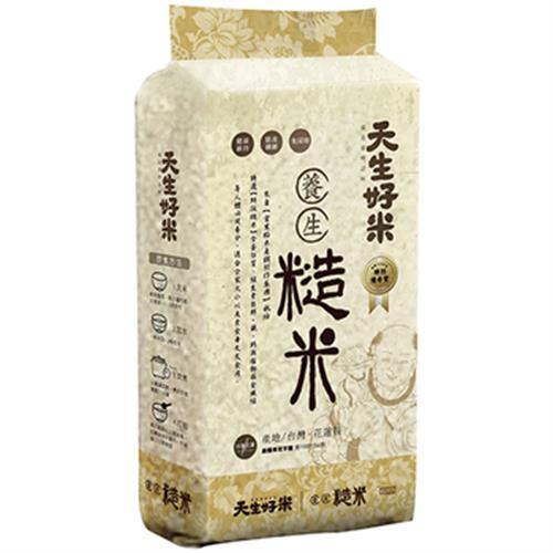 天生好米 養生糙米(2kg/包)