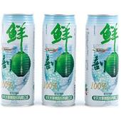 《鮮剖》100%純椰子汁(有料)(520ml*3罐/組)