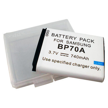 SAMSUNG相機電池 BP-70A BP70A ST60 PL120 PL170 ST700 MV800 相機電池(740mAh)