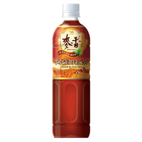 統一 麥香阿薩姆紅茶(600ml*4瓶/組)