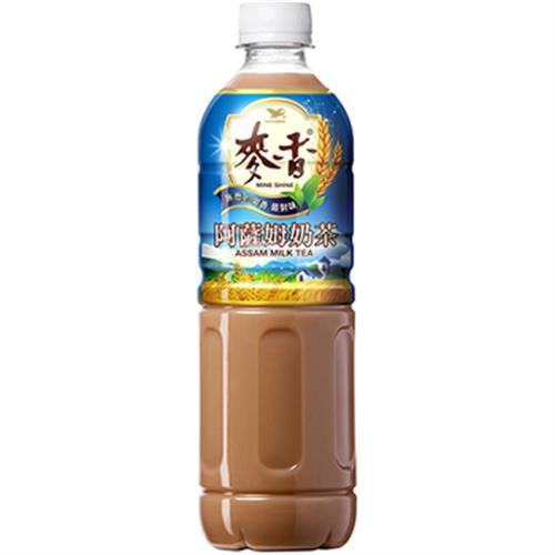 統一 麥香阿薩姆奶茶(600ml*4瓶/組)