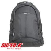 《艾可兒》【SUPER-K】休閒電腦背包BS08117-黑
