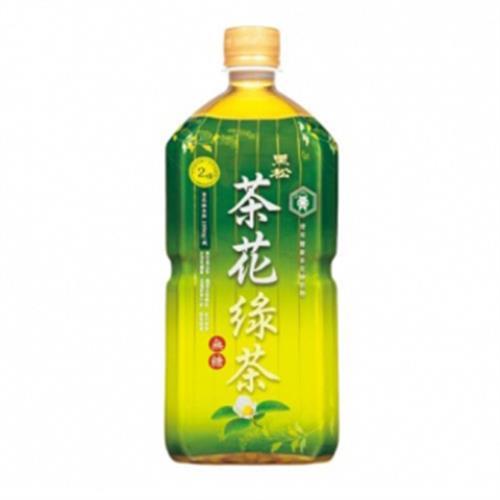 黑松 茶花綠茶(975ml/瓶)