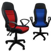 《新生活》賽車電腦椅/辦公椅-兩色(激情紅)