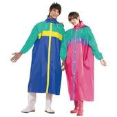 《三和牌》開前襟尼龍雨衣(229G/XL-桃紅)