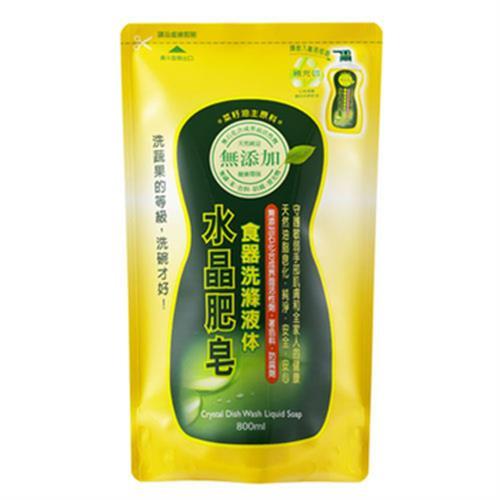 南僑 水晶肥皂食器洗滌液体補充包(800ml/包)