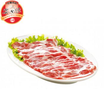 台糖安心豚 梅花肉火鍋片(600g+-10%/盒)