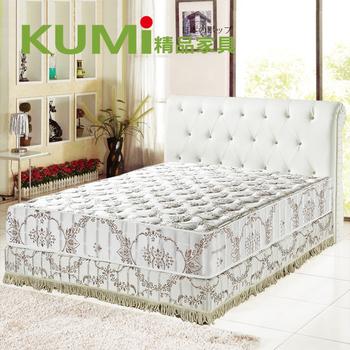 ★結帳現折★KUMI RecoTex-Cool涼爽透氣-蜂巢式獨立筒床墊-加大