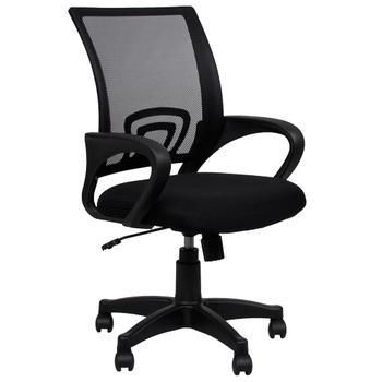 BuyJM 米尼新造型網布電腦椅(黑)