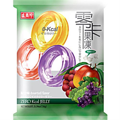 盛香珍 零卡果凍-綜合(720g/包)