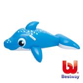 《艾可兒》【Bestway】可愛充氣海豚坐騎