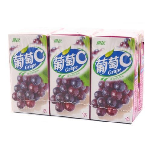 黑松 葡萄C(300mlx6包/組)