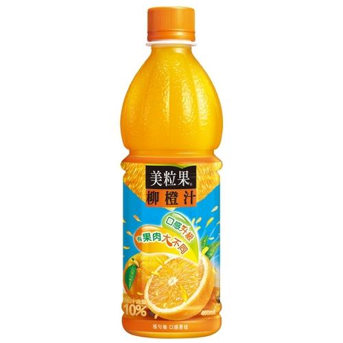 美粒果 柳橙果汁(450ml*4瓶/組)