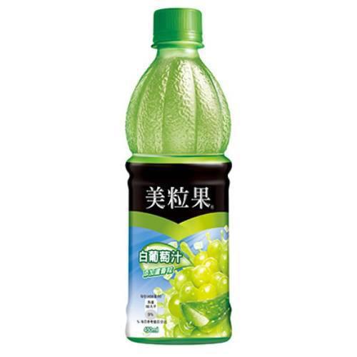 美粒果 白葡萄果汁(450ml*4瓶/組)